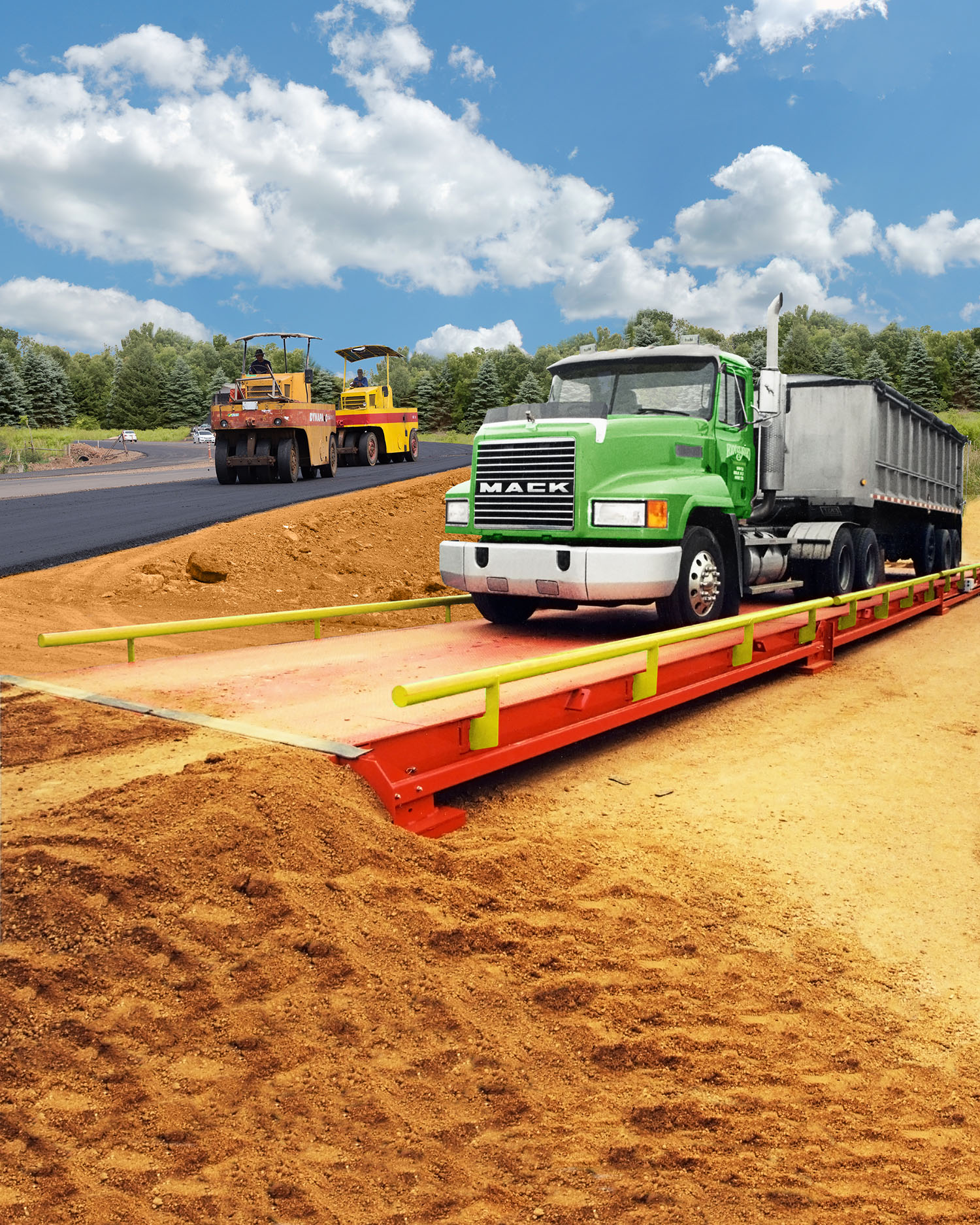 PORTABLE TRUCK SCALE IS EASY TO INSTALL, EXPAND & RELOCATE
