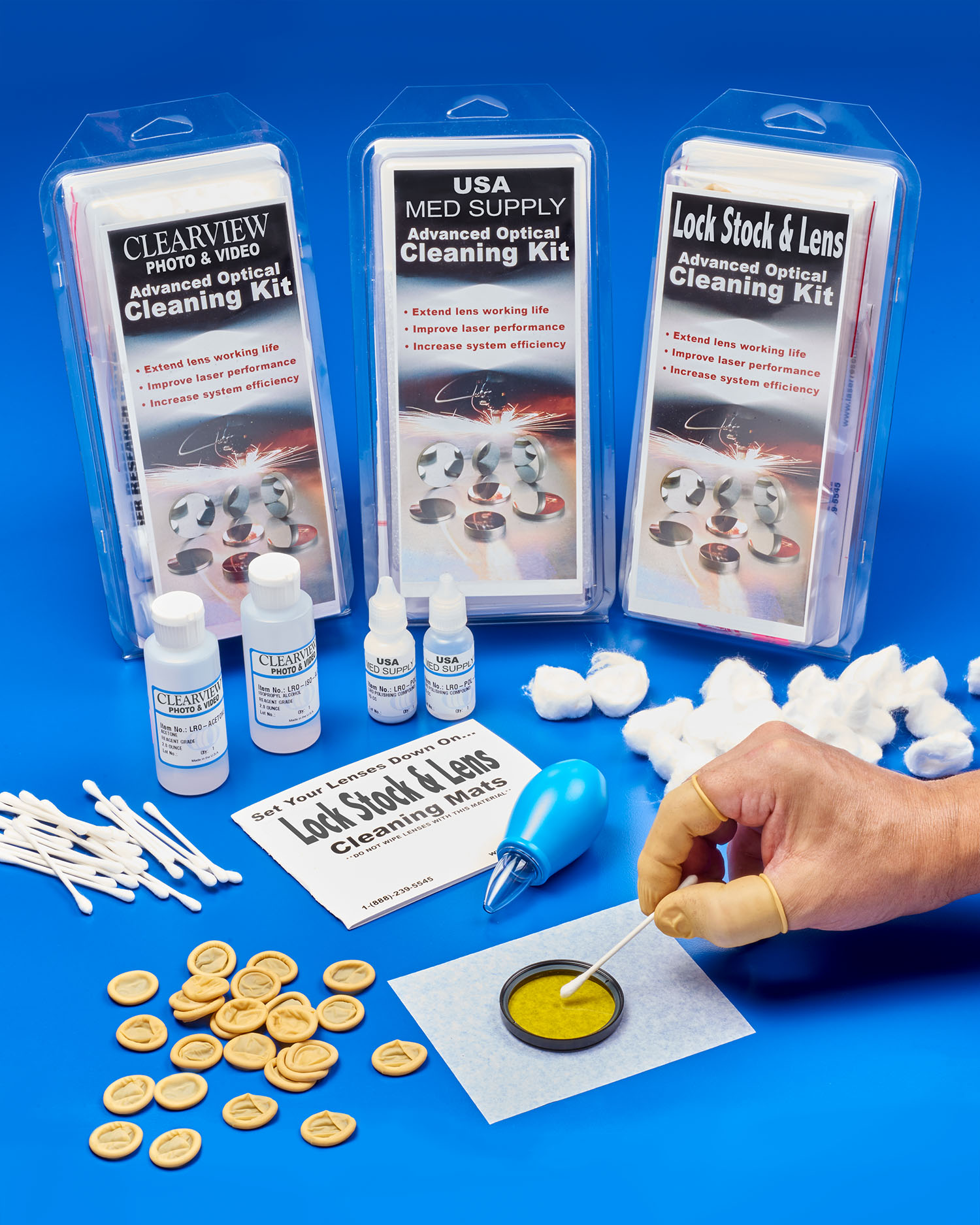 OPTICS CLEANING KIT PRIVATE LABELING IS INTRODUCED