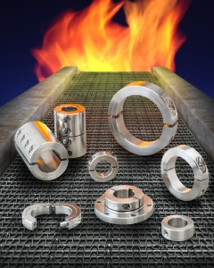 SHAFT COLLARS AND COUPLINGS FOR HIGH TEMPERATURE APPLICATIONS