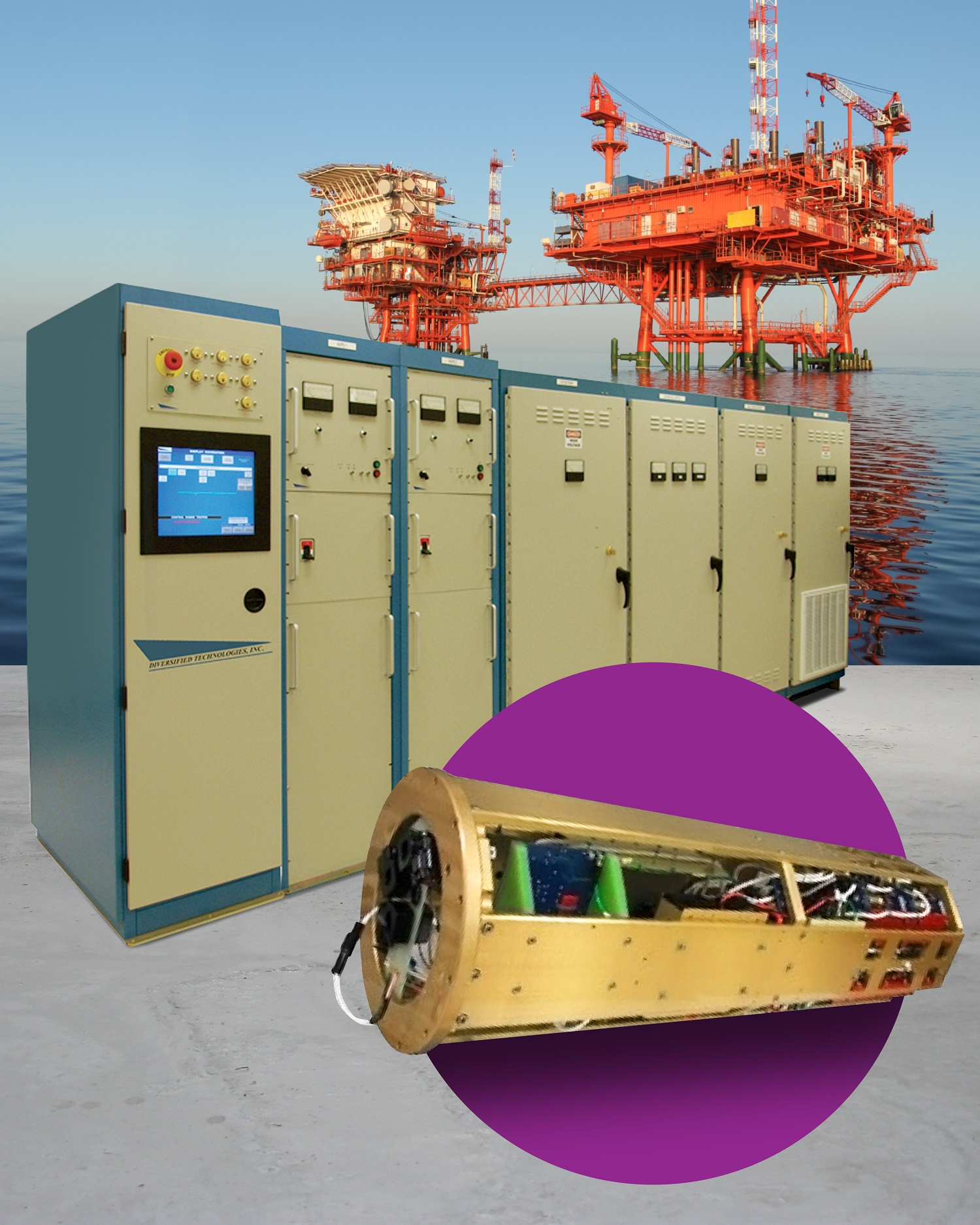SUBSEA ELECTRIC POWER CONVERTER ELIMINATES MILES OF HYDRAULIC CABLES