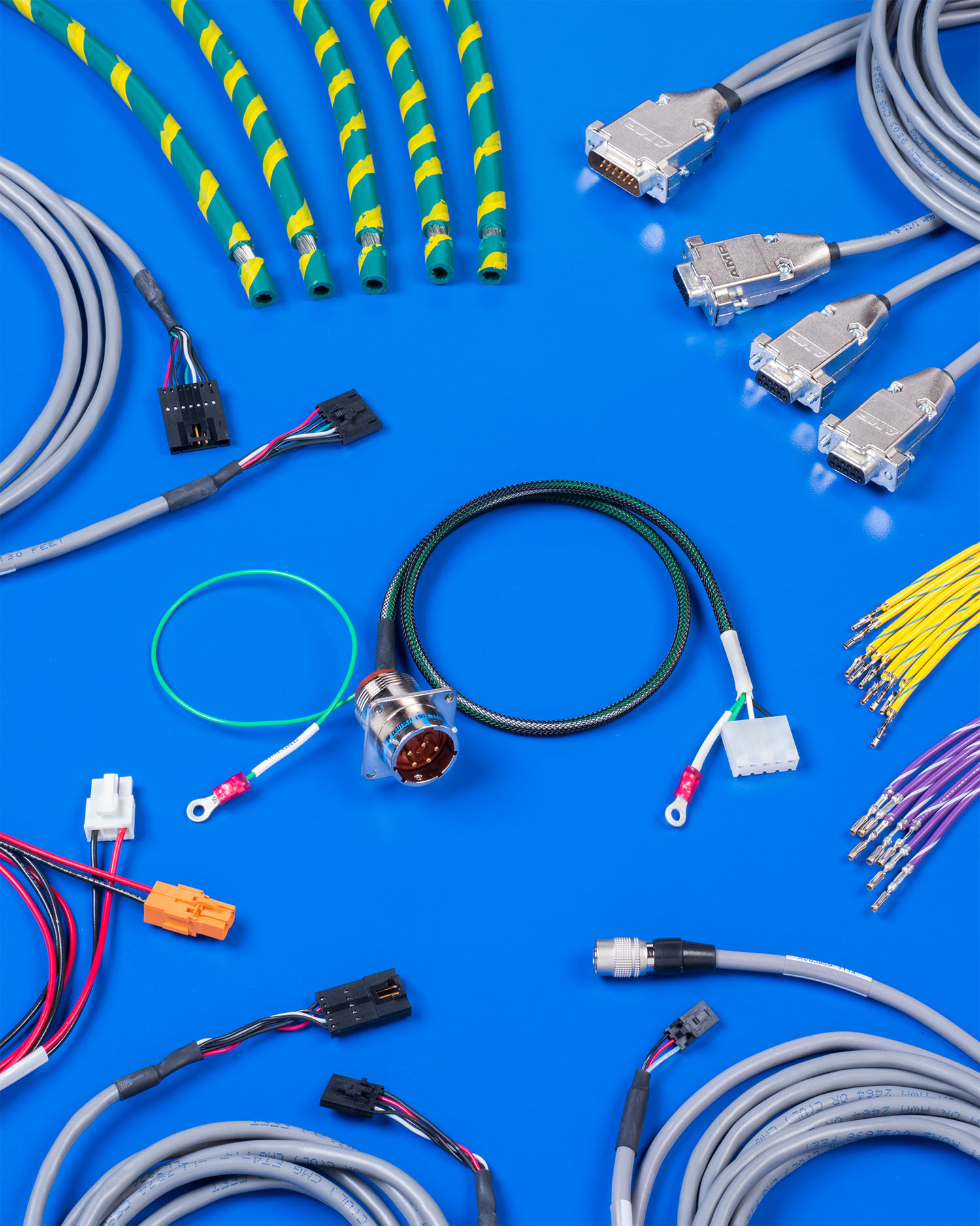 CABLE & HARNESS ASSEMBLY PROVIDES FULLY AUTOMATED CONTINUITY TESTING