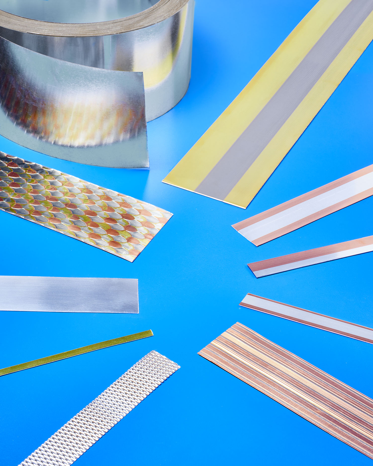 COMPOSITE CLAD METAL STRIP COMBINES BEST PROPERTIES OF EACH METAL